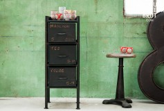 Pour une déco style industriel vintage et chic, rendez-vous sur produitinterieurbrut.com