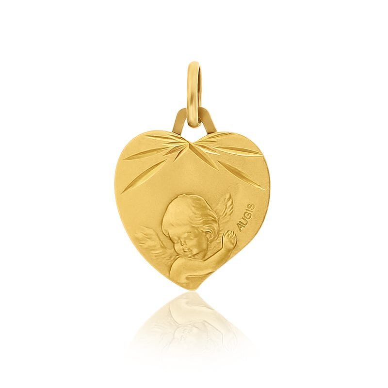 médaille d'ange en or