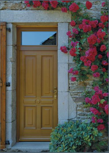 Pour votre entrée, vous voulez une porte en bois? Allez voir chez Tryba !
